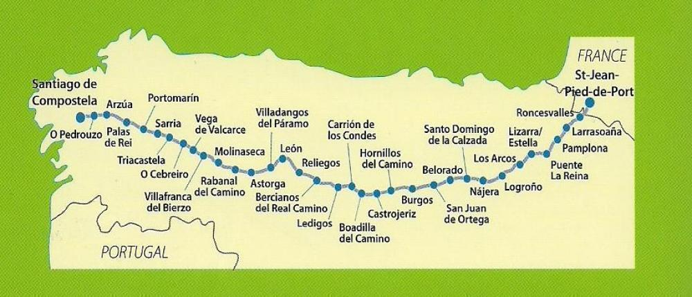About renata goes to santiago - How to get to saint jean pied de port ...
